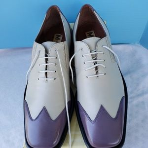 Marco Vicci  Lavender and White Shoes